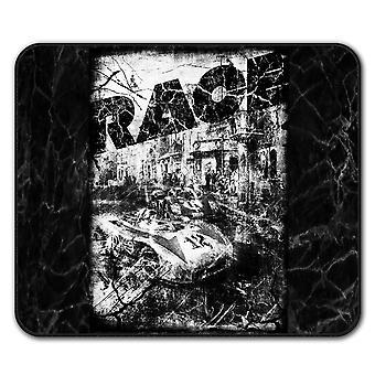 Sport Race Fast Drift  Non-Slip Mouse Mat Pad 24cm x 20cm | Wellcoda