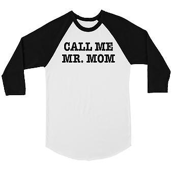 氏ママ メンズ野球シャツと呼んでください。