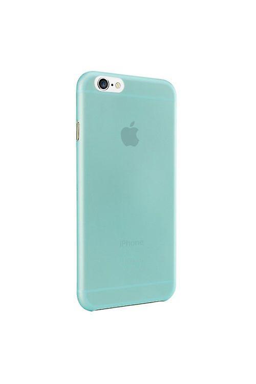 Ozaki OC555CY O! Coat jelly cover sleeve, iPhone 6 6S, cyan