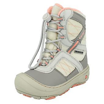 Girls Hi Tec Snow Boots Slalom 200 WP JRG