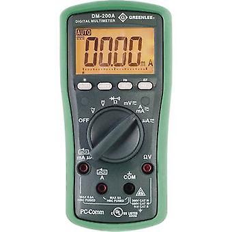 غرينلي DM-200A محمولة متعدد العدادات الرقمية CAT II 1000 V، CAT III 600 V العرض (العد): 6000