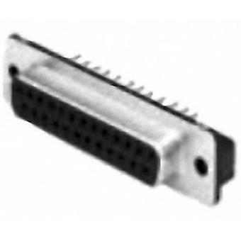 TE Connectivity AMPLIMITE HD-20 5747150-7 D-SUB receptacles 180 ° Number of pins: 9 Print 1 pc(s)