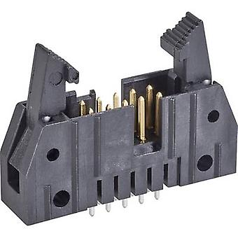 TE Connectivity Pin strip + ejector (short) Contact spacing: 2.54 mm Total number of pins: 26 No. of rows: 2 1 pc(s)