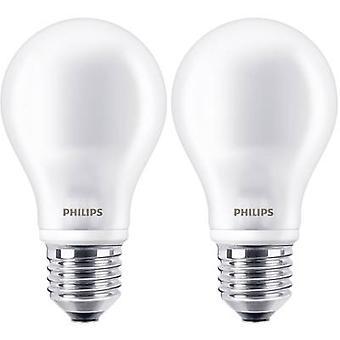 Philips Lighting LED EØF A++ (en ++ - E) E27 vilkårlig 7W = 60 W varm hvit (Ø x L) 60 x 110 mm Filament 2 eller flere PCer
