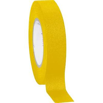 Coroplast 800 800-YE Cloth tape 800 Yellow (L x W) 10 m x 15 mm 1 pc(s)