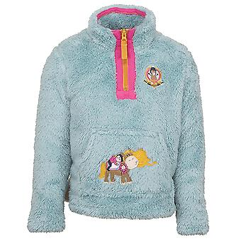 Nancys honung Childrens Fleece tröja Ocean