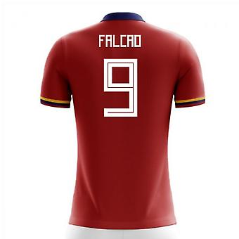 2018-2019 Colombie Away maillot de foot de Concept (Falcao 9) - Kids