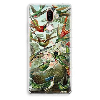 Nokia 7 Plus boîtier Transparent (doux) - Haeckel Trochilidae