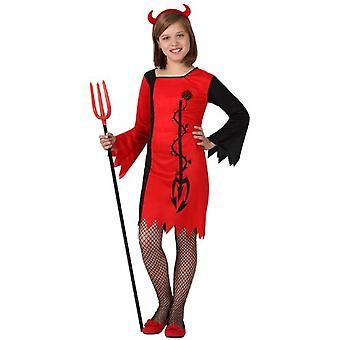 Kinder Kostüme Teufel Girl Kostüm