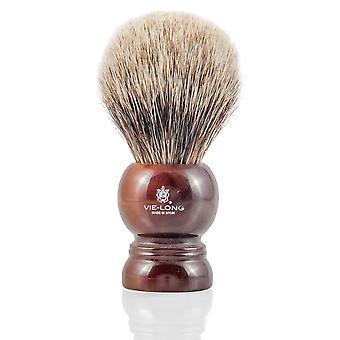 Vie-Long 16722 White Badger Shaving Brush