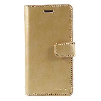iPhone X/ XS Mercury Goospery Mansoor Wallet Case - Gold