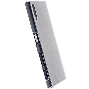 Krusell Kivik cover Sony Xperia X transparant
