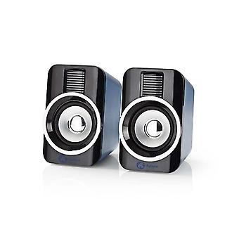 USB Gaming Speaker Full Stereo 2.0