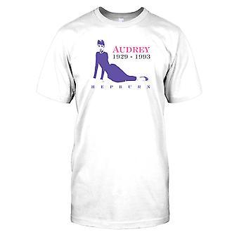 Audrey Hepburn-1920-1993 Miesten T-paita
