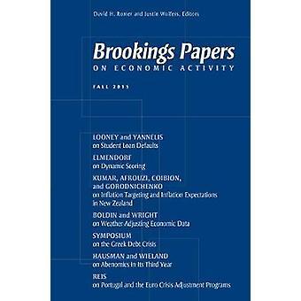 Papeles de Brookings en actividad económica por David H. Romer - Wolf de Justin