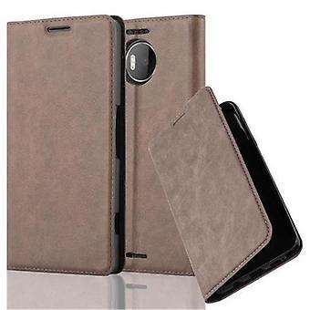 Cadorabo caso para Nokia Lumia 950 XL caso capa-telefone caso com fechamento magnético, stand função e cartão caso-caso capa caso caso caso caso livro de dobramento estilo