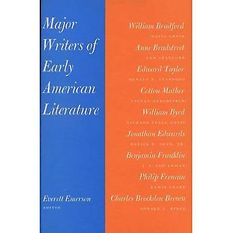 Grands écrivains de la littérature américaine au début