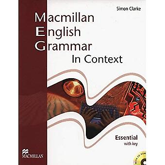 Macmillan English Grammar in Context Essential with Key and CD-ROM Pack