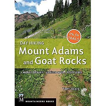 Journée randonnée pédestre: Mont Adams et Goat Rocks: ciel indien, zone de Yakima, White Pass