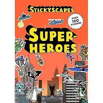 Stickyscapes superhelden