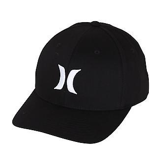 Hurley Men's Flexfit Cap ~ Dri-Fit One & Only black white