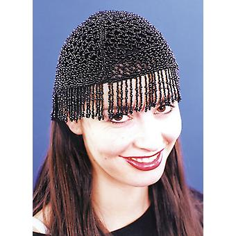 20S Beaded Cap Blk For All