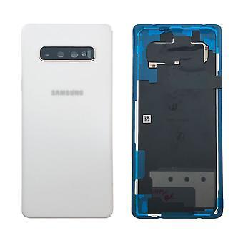 Samsung GH82-18867B батарея крышка крышка для S10 Галактика плюс G975F + коврик клей Белый керамический белый новый