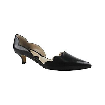 Adrienne Vittadini Womens Serene Leather Pointed Toe Classic Pumps