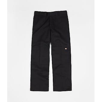 Dickies Double Knee arbejde bukser sort