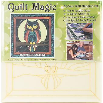 Quilt-Magic No Sew Wall Hanging Kit-Hootoween