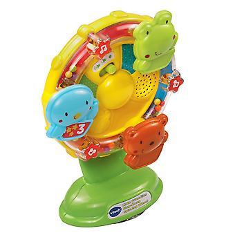 VTech Baby malá přátelství Zpívejte podél otáčejícího se kola