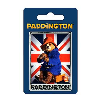 Paddington Bear film Union Jack koelkast magneet