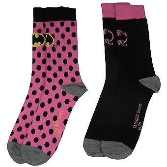 Batman diverse sokker til dame (2 par)