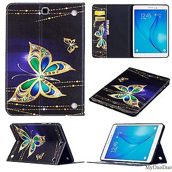 For Samsung Galaxy Tab A 10.1 2019 T510 T515 Motif 32 Bag Art Leather Case Case