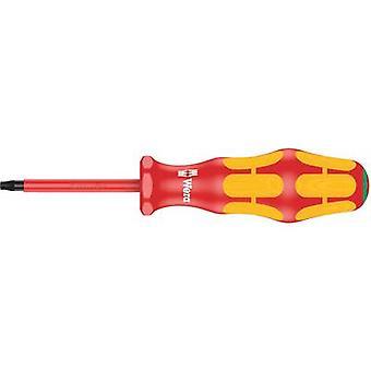 Wera 167 ich VDE Torx-Schraubendreher Größe (Schraubendreher) T 20 Klingenlänge: 80 mm DIN EN 60900
