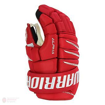 Warrior alpha QX Pro gants Senior-rouge