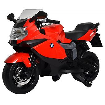Licensed BMW Bike Electric Ride On Red With Songs and Lights Kids Electric Bike