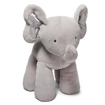 Plush - Gund - Bubbles Elephant Baby Pink / Blue / Gray 4.5