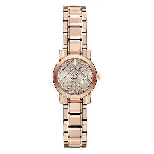 Burberry Bu9228 The City Petite Nude Dial Rose Gold-tone Ladies Watch