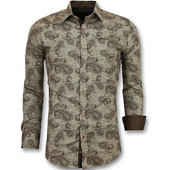 E - Slim Fit - Brown