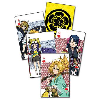 Playing Card - Ambition of Oda Nobuna - New Poker Game Anime Licensed ge51515
