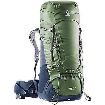 Deuter Aircontact 65 - 10 Casual backpack 84centimeters 65 Green (Khaki-Navy)