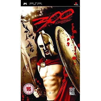 300 Mars To Glory (PSP) - Nouveau
