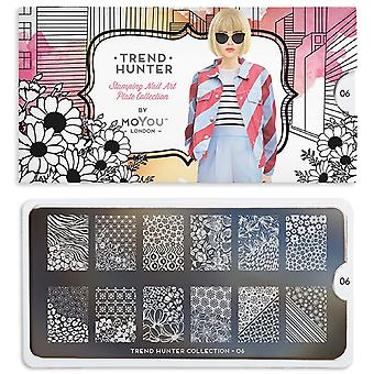 MoYou London Nail Art Image Plate - Trend Hunter 06 (MPTRE06)