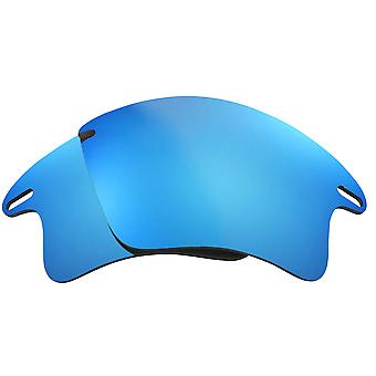 SEEK Replacement Lenses Compatible for Oakley Fast Jacket XL AF Blue Mirror