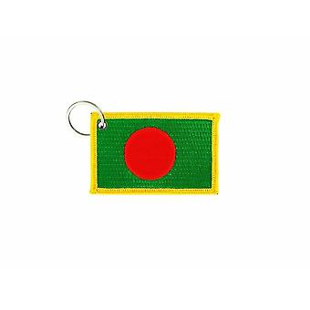Cle Cles Key Brode Patch Ecusson Badge Bangladesh Bangladesh flag