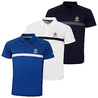 Abacus Herre Herre Leven Golf Wicking Drycool Polo Shirt