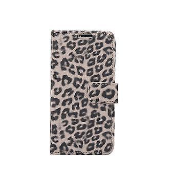 iPhone 11 Pro Max Portafoglio Caso Leopardo
