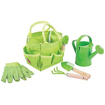 Bigjigs Toys Children's Small Tote Gardening Bag Kids Child Garden Outdoor
