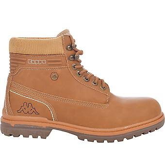 Kappa menns Dakota casual Lace opp walking fotturer Hi Top Trail sko støvler-Tan